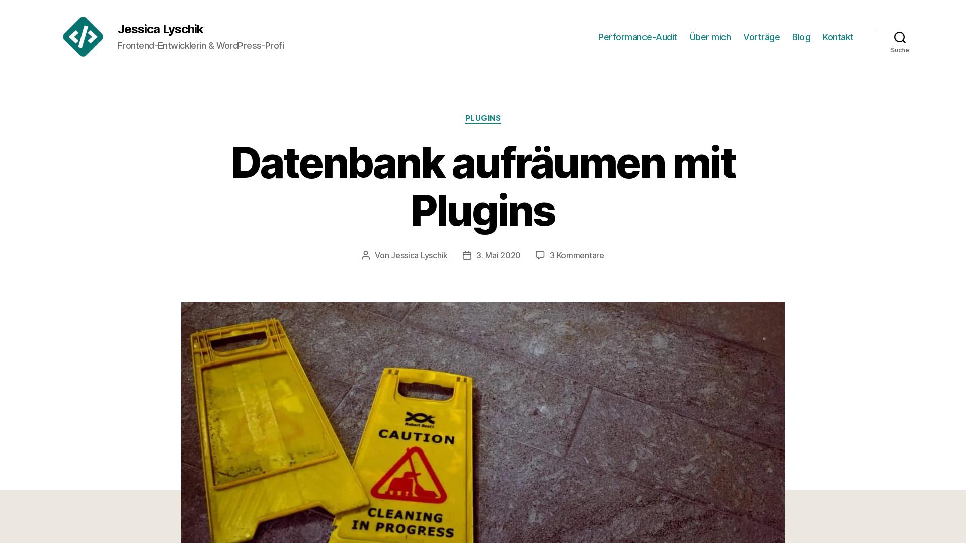 https://jessicalyschik.de/datenbank-aufraeumen-mit-plugins/