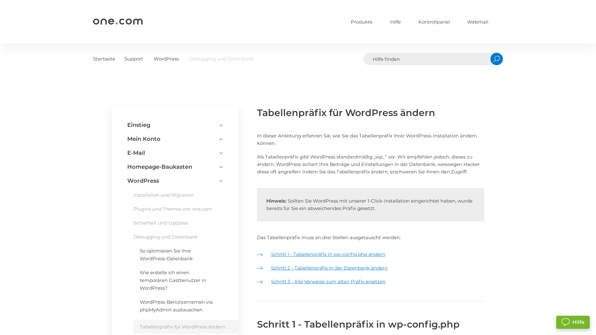 https://help.one.com/hc/de/articles/360002107438-Tabellenprfix-fr-WordPress-ndern