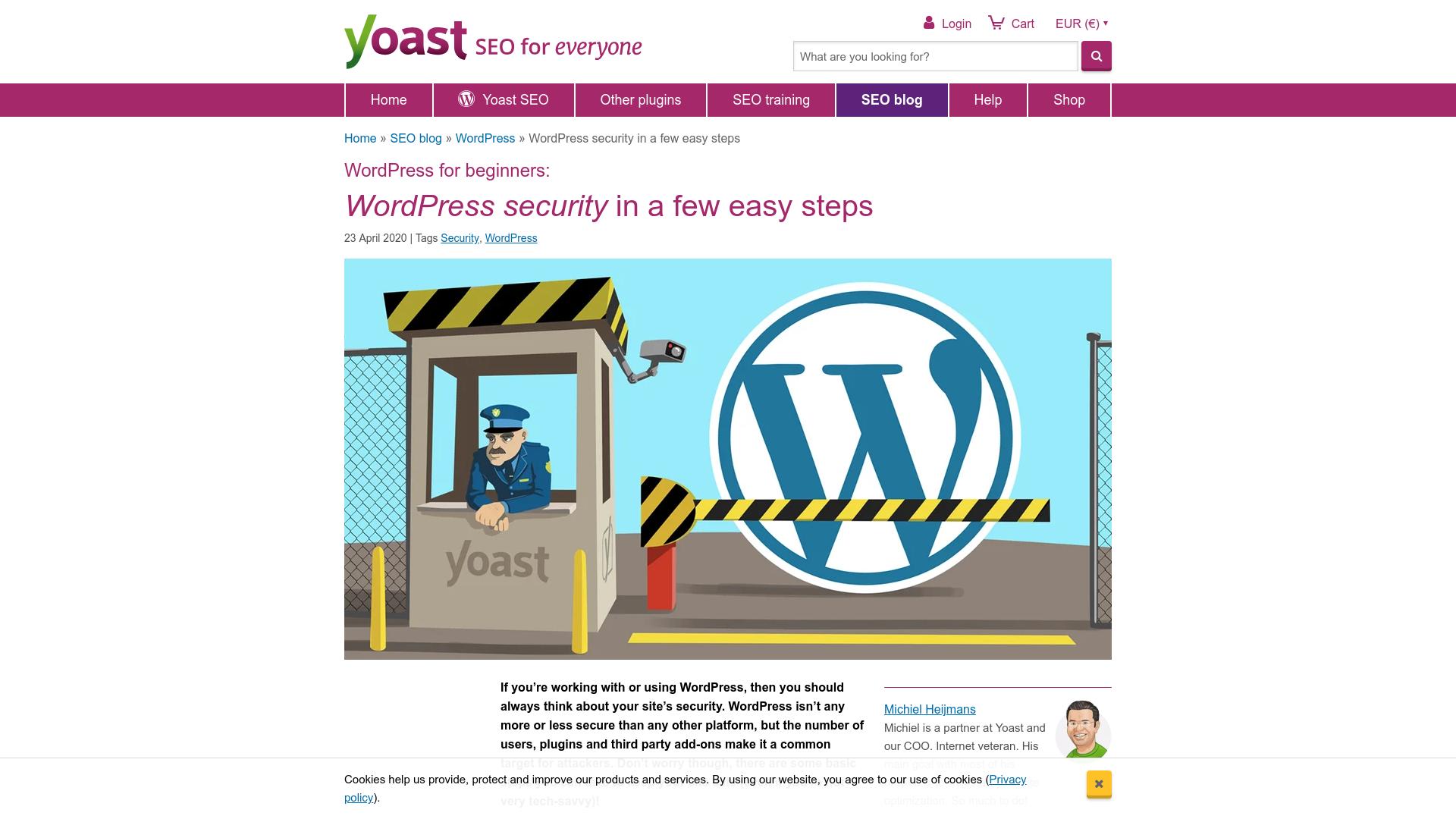 https://yoast.com/wordpress-security/