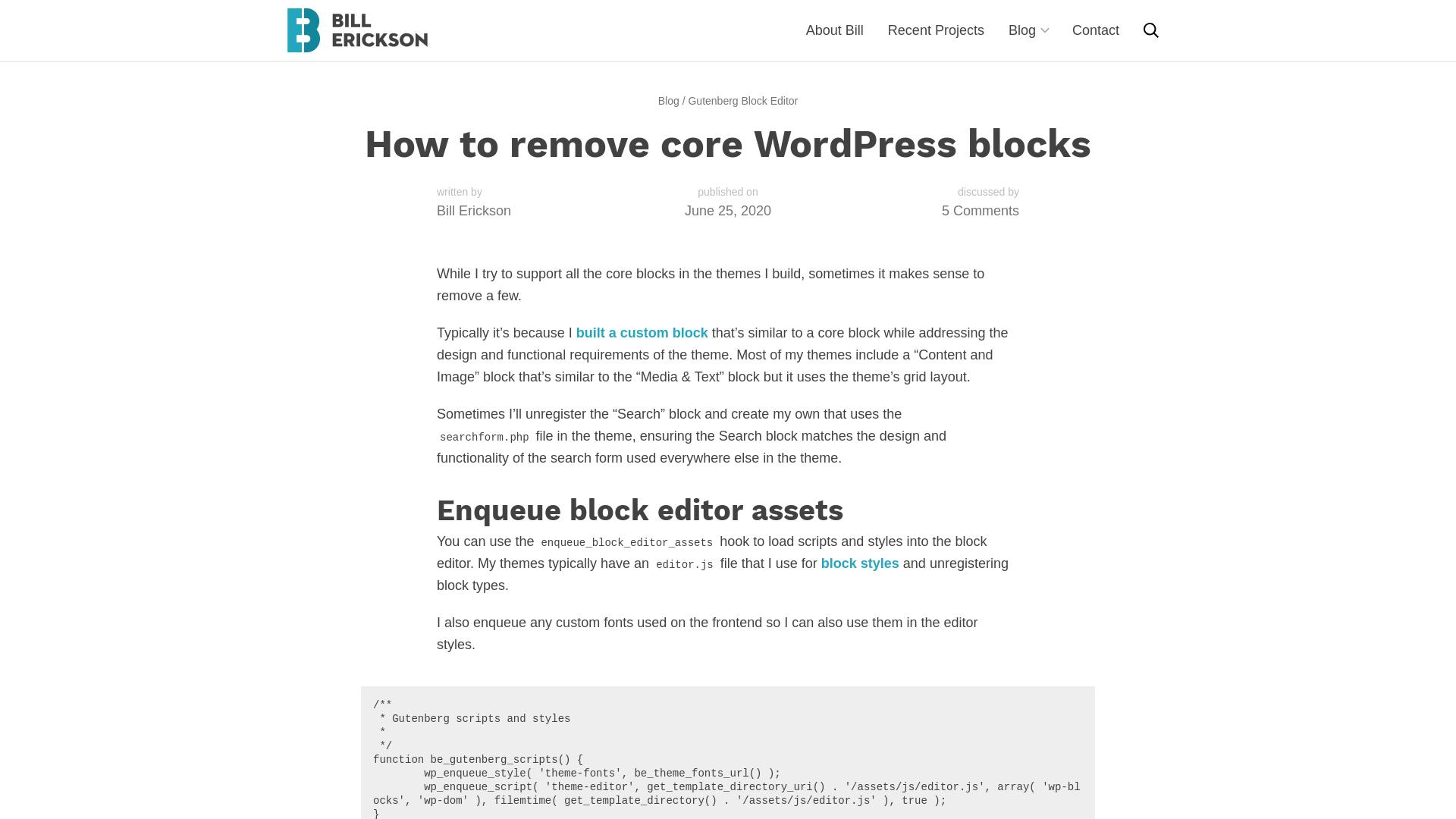 https://www.billerickson.net/how-to-remove-core-wordpress-blocks/