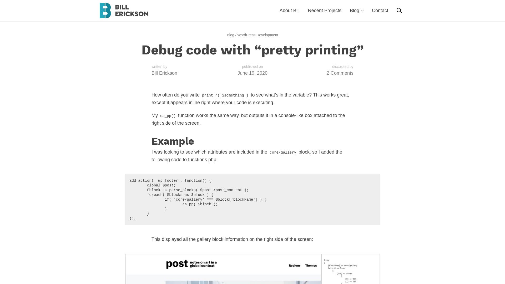 https://www.billerickson.net/debug-code-with-pretty-printing/